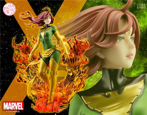 寿屋推出美少女系列《X战警》黑凤凰重生限定款 10月发售 模玩 第1张