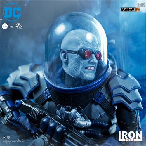 Iron Studios宣布推出Art Scale1/10《蝙蝠侠》急冻人雕像 模玩 第2张