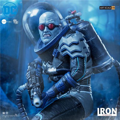 Iron Studios宣布推出Art Scale1/10《蝙蝠侠》急冻人雕像 模玩 第6张