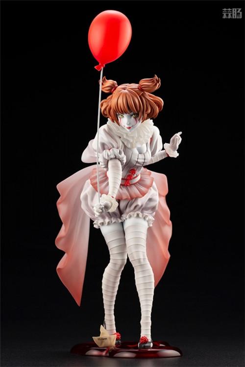 寿屋推出美少女系列1/7《小丑还魂》女版小丑潘尼怀斯 模玩 第1张