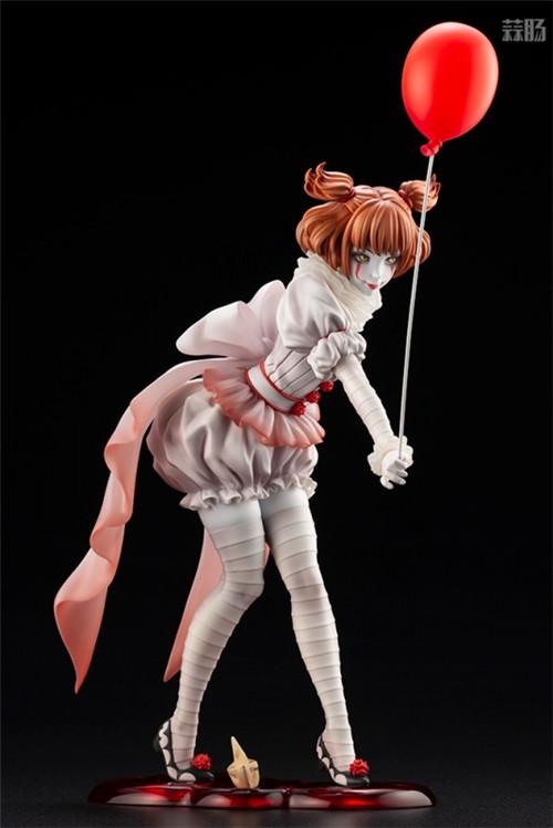 寿屋推出美少女系列1/7《小丑还魂》女版小丑潘尼怀斯 模玩 第3张