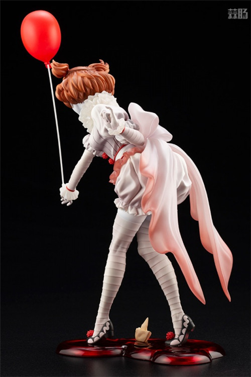 寿屋推出美少女系列1/7《小丑还魂》女版小丑潘尼怀斯 模玩 第4张