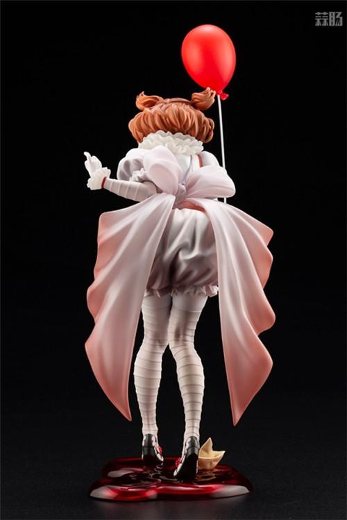 寿屋推出美少女系列1/7《小丑还魂》女版小丑潘尼怀斯 潘尼怀斯 小丑还魂 美少女系列 手办 寿屋 模玩  第2张