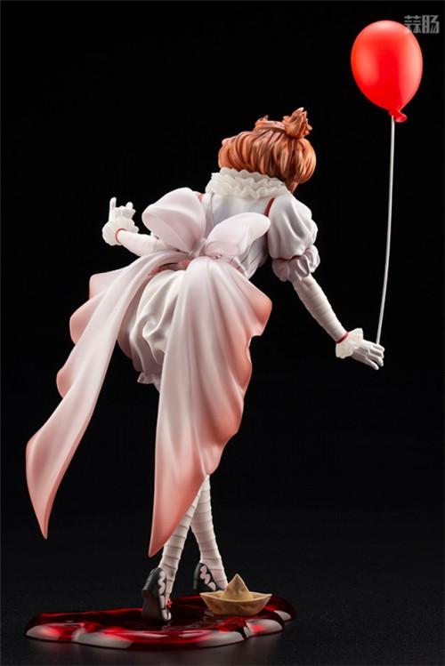 寿屋推出美少女系列1/7《小丑还魂》女版小丑潘尼怀斯 模玩 第6张