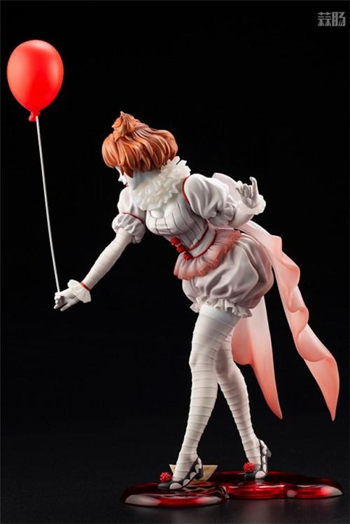 寿屋推出美少女系列1/7《小丑还魂》女版小丑潘尼怀斯 模玩 第5张