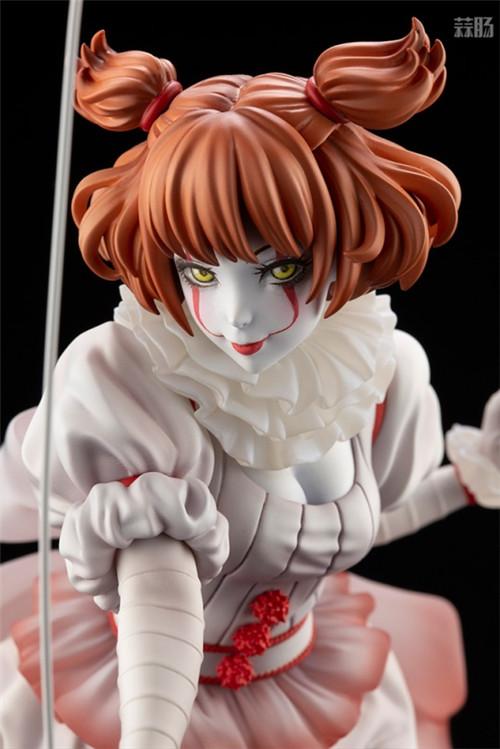 寿屋推出美少女系列1/7《小丑还魂》女版小丑潘尼怀斯 模玩 第7张