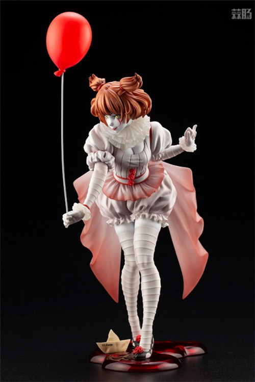 寿屋推出美少女系列1/7《小丑还魂》女版小丑潘尼怀斯 模玩 第8张