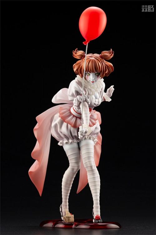 寿屋推出美少女系列1/7《小丑还魂》女版小丑潘尼怀斯 模玩 第9张