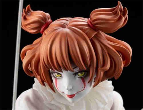 寿屋推出美少女系列1/7《小丑还魂》女版小丑潘尼怀斯