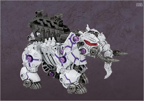 Takara Tomy公开《索斯机兽:荒野纪》ZW43大象Zero Phantos 模玩 第2张