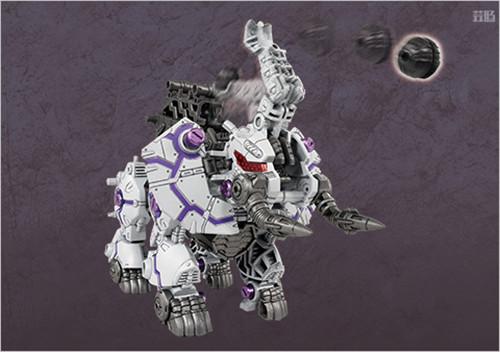 Takara Tomy公开《索斯机兽:荒野纪》ZW43大象Zero Phantos 模玩 第3张