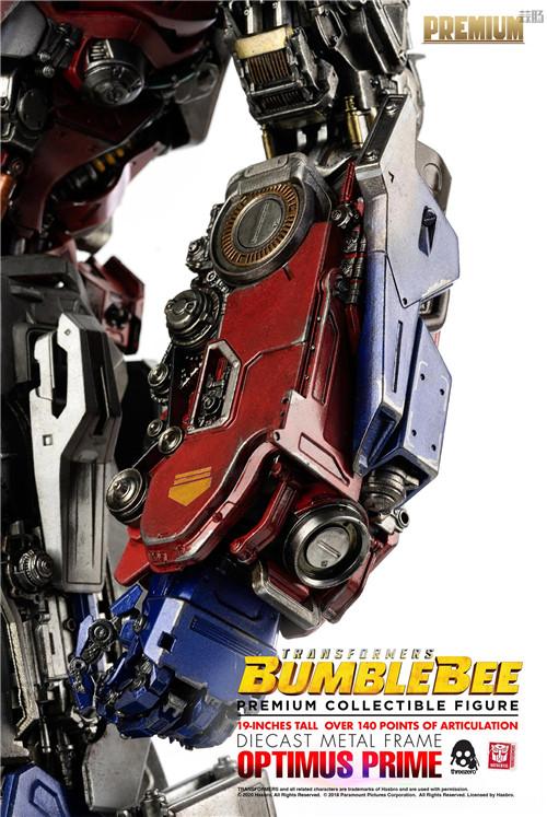 Threezero正式推出《大黄蜂》版擎天柱可动人形 2021年发售 擎天柱 大黄蜂 变形金刚 Threezero 变形金刚  第8张