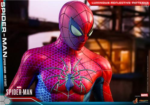 HotToys推出《漫威蜘蛛侠》蜘蛛侠MK4战衣1:6比例人偶 模玩 第6张
