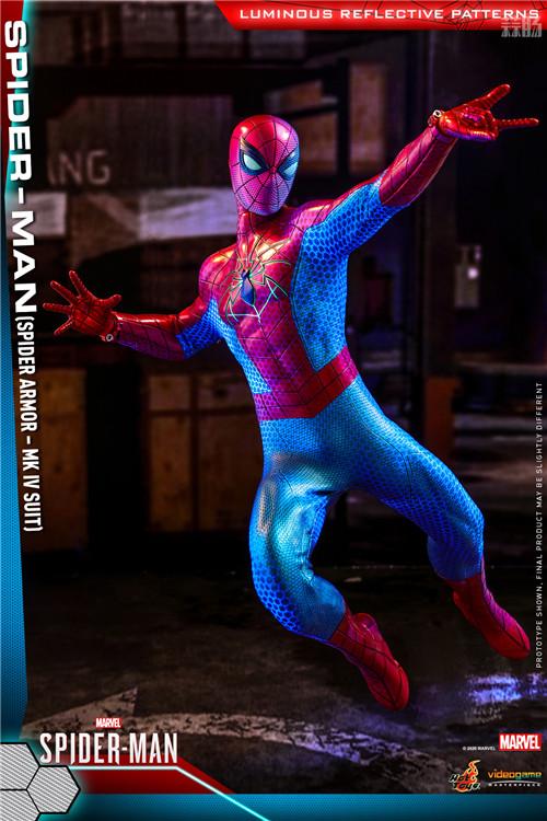 HotToys推出《漫威蜘蛛侠》蜘蛛侠MK4战衣1:6比例人偶 模玩 第3张