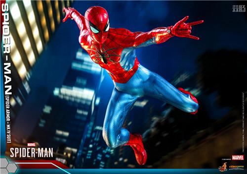 HotToys推出《漫威蜘蛛侠》蜘蛛侠MK4战衣1:6比例人偶 模玩 第4张