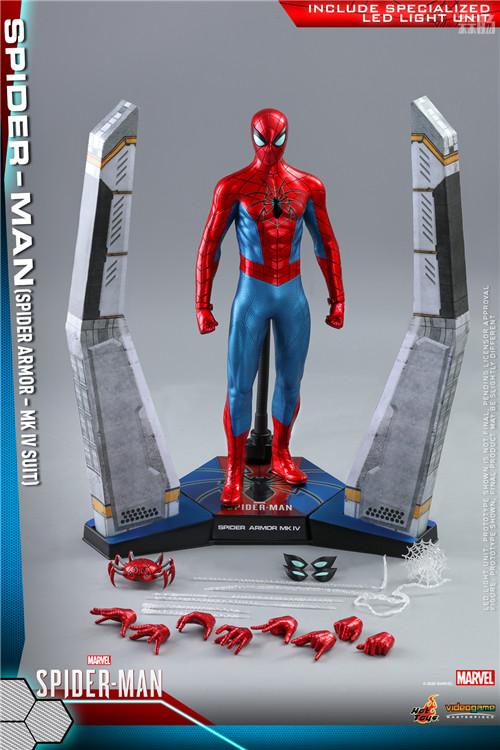 HotToys推出《漫威蜘蛛侠》蜘蛛侠MK4战衣1:6比例人偶 模玩 第9张