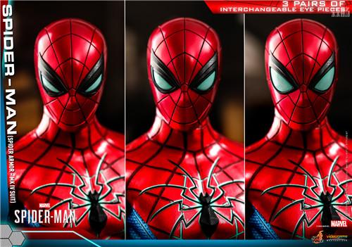 HotToys推出《漫威蜘蛛侠》蜘蛛侠MK4战衣1:6比例人偶 模玩 第8张