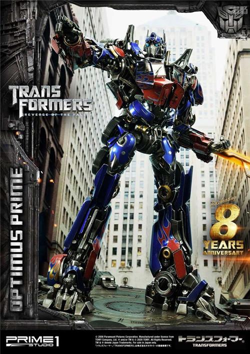 Prime 1 Studio推出MMTFM-28 ROTF擎天柱可动雕像 变形金刚 第2张