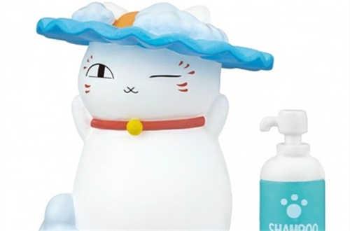 Takara Tomy推出《夏目友人帐》猫咪老师洗澡扭蛋 可爱爆表