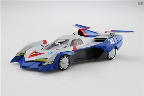 青岛社推出《高智能方程式赛车》1/24阿斯拉达GSX气流模式 模玩 第1张