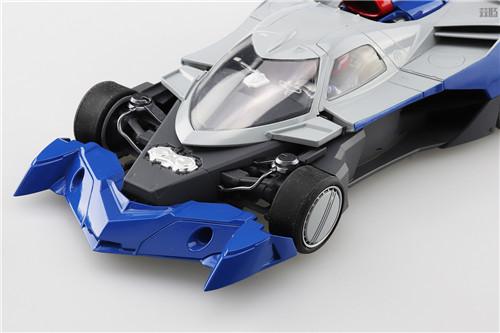 青岛社推出《高智能方程式赛车》1/24阿斯拉达GSX气流模式 模玩 第4张
