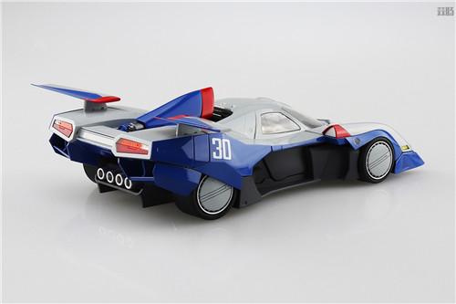 青岛社推出《高智能方程式赛车》1/24阿斯拉达GSX气流模式 模玩 第2张
