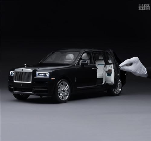 劳斯莱斯推出1/8库里南车模 售价堪比普通真车 汽车模型 第3张