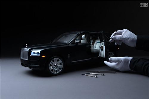 劳斯莱斯推出1/8库里南车模 售价堪比普通真车 汽车模型 第2张
