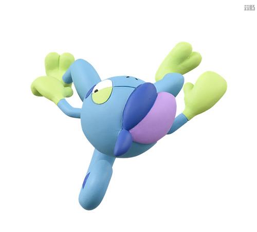 TakaraTomy推出《宝可梦》新玩具 莫鲁贝可登场 莫鲁贝可 变涩蜥 啪咚猴 腾蹴小将 宝可梦 Takara Tomy 模玩  第9张