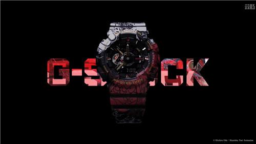 卡西欧G-Shock联动《海贼王》推出路飞主题GA-110腕表 动漫 第1张