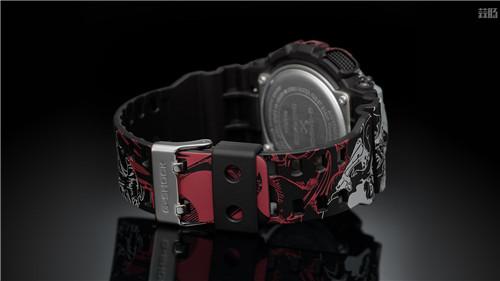 卡西欧G-Shock联动《海贼王》推出路飞主题GA-110腕表 动漫 第6张