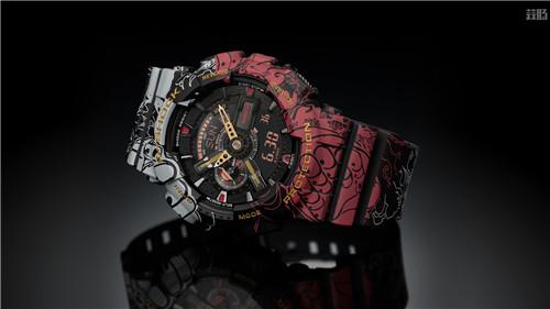 卡西欧G-Shock联动《海贼王》推出路飞主题GA-110腕表 动漫 第5张