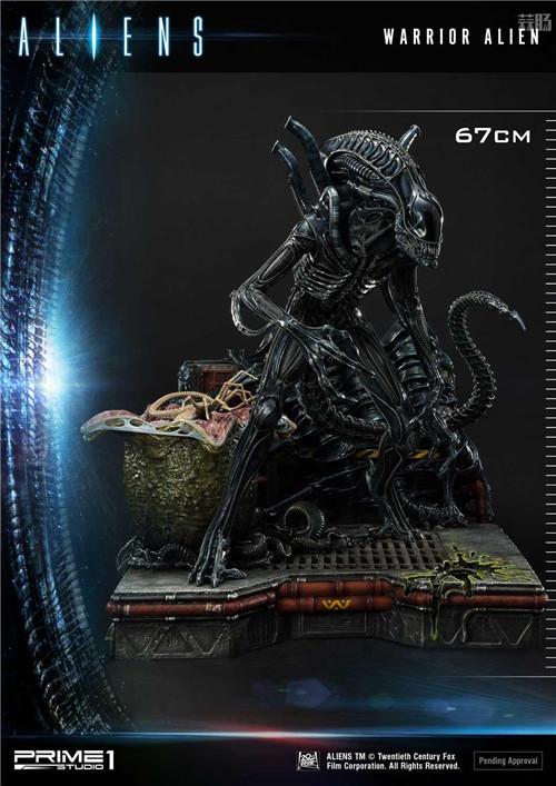 P1S推出《异形2》战士异形雕像 模玩 第3张