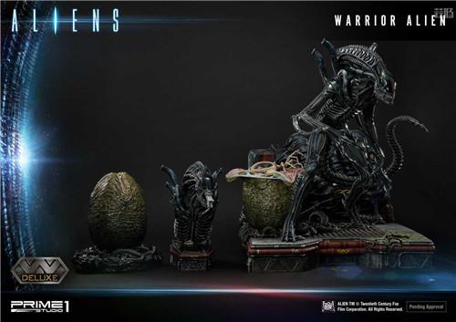 P1S推出《异形2》战士异形雕像 模玩 第7张
