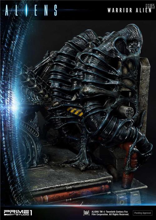 P1S推出《异形2》战士异形雕像 模玩 第9张