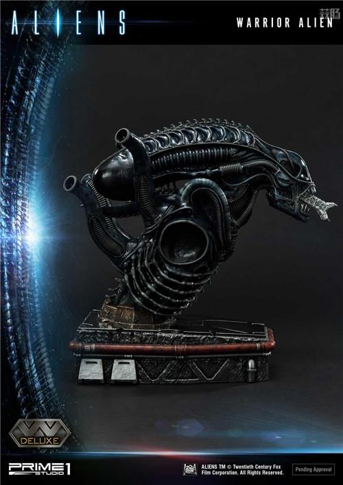P1S推出《异形2》战士异形雕像 模玩 第10张