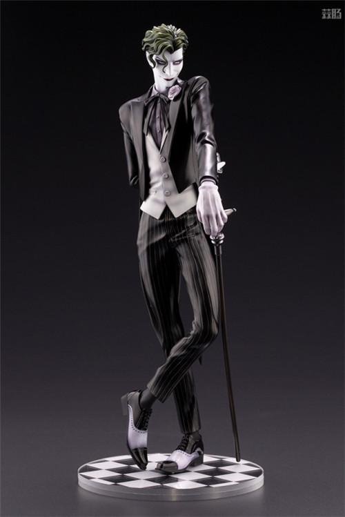 寿屋推出美男子系列DC小丑限量版1/7手办 模玩 第2张