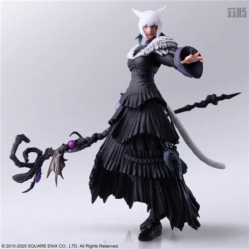 SE推出《最终幻想14》BA雅·修特拉魔女版可动手办 模玩 第2张