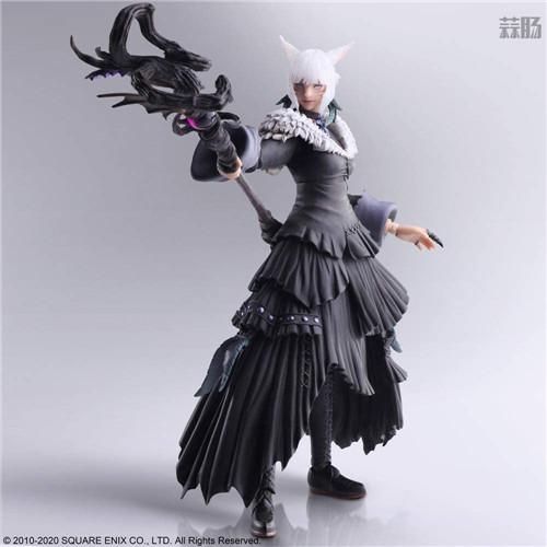 SE推出《最终幻想14》BA雅·修特拉魔女版可动手办 模玩 第3张