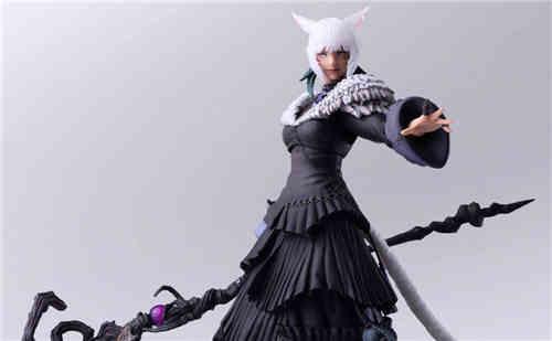 SE推出《最终幻想14》BA雅·修特拉魔女版可动手办