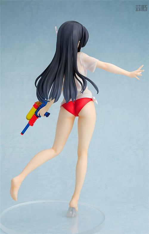 Chara-ani推出《青春猪头少年》水枪约会版樱岛麻衣1/7手办 模玩 第4张