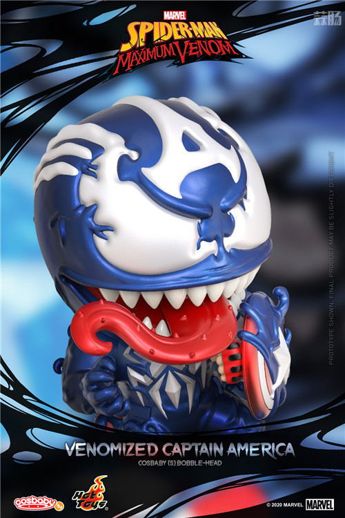 Hot Toys推出《蜘蛛侠:最大毒液》COSBABY迷你人偶 蜘蛛侠:最大毒液 漫威 HotToys HT 模玩  第3张