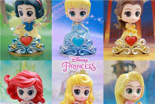 Hot Toys推出《迪士尼公主》COSBABY迷你珍藏人偶