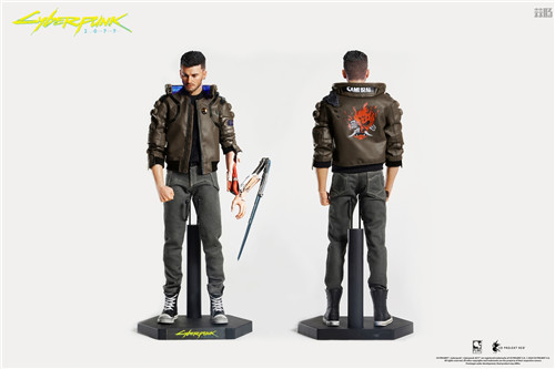 豆鱼雷推出《赛博朋克2077》男女主角V1/6可动手办附带酷炫摩托 模玩 第1张