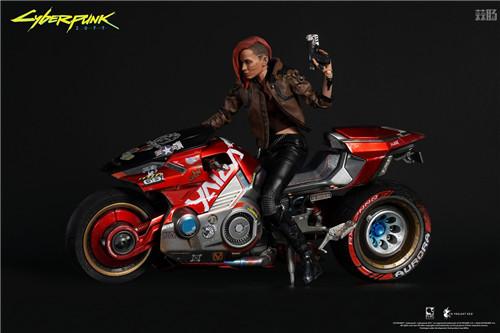 豆鱼雷推出《赛博朋克2077》男女主角V1/6可动手办附带酷炫摩托 模玩 第9张