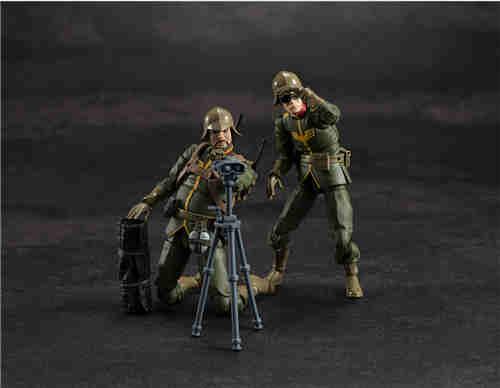 MegaHouse推出GMG《机动战士高达》吉恩公国普通士兵可动人偶