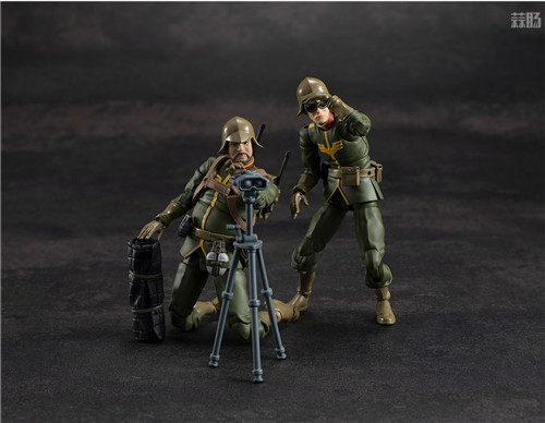 MegaHouse推出GMG《机动战士高达》吉恩公国普通士兵可动人偶 模玩 第1张