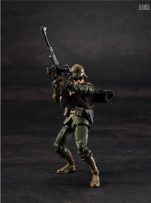 MegaHouse推出GMG《机动战士高达》吉恩公国普通士兵可动人偶 模玩 第2张