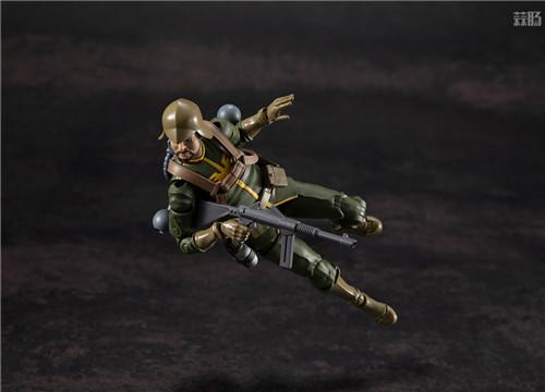 MegaHouse推出GMG《机动战士高达》吉恩公国普通士兵可动人偶 模玩 第3张