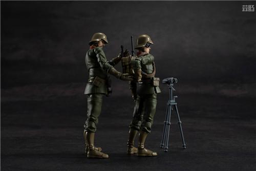 MegaHouse推出GMG《机动战士高达》吉恩公国普通士兵可动人偶 模玩 第4张